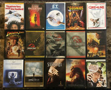 Free Shipping! Lot of 15 Diiferent Movies Dvds Directed By Steven Spielberg