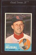 1963 Topps Stan Musial #250 Baseball Card