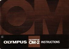 OLYMPUS OM-2 OM-2n OM2 OM2n CAMERA INSTRUCTION MANUAL
