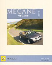 2006 Renault Megane German Prospekt Sales Brochure