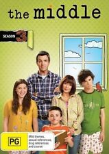 The Middle : Season 3 (DVD, 2014, 3-Disc Set) New, ExRetail Stock (D148)
