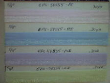 FOLDOVER ELASTIC Baby PINK Glitter Lurex  5/8 inch Iridescent 10 yds. NEW