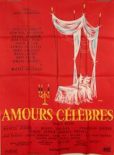 AFFICHE FILM AMOURS CELEBRES - 1961 - PAR SIRY