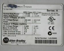Allen Bradley 20B C 3P5 A 0AYNANAO 1.5kW 2HP three phase variable speed drive