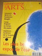 Connaissance des arts N°673 Ete russe Les Poirier Miro Avignon Maorelle Vix