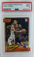 2018 18-19 Panini Chronicles Classics Trae Young Rookie RC #665, Graded PSA 9