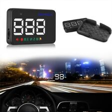A5 GPS HUD Head Up Display Km/h MPH Digital Speedo Speed Warning Alarm Pop