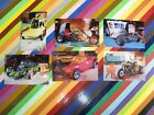 vtg 1970s Ed Roth MovieWorld postcards - Cars of the Stars