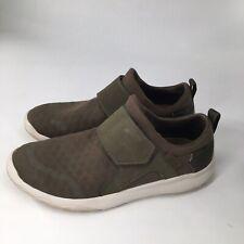Teva Womens 9 Arrowood Swift Slip On Textile Hiking Shoes Army Green Strap