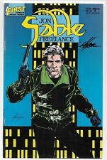 JON SABLE FREELANCE 46 SIGNED BY MIKE GRELL The Tower Myke Blackmon FIRST COMICS
