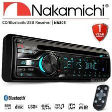 New NAKAMICHI NA205 Bluetooth Single DIN CD USB AUX Car Radio Stereo Headunit