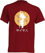 Camiseta Bola de Dragón Goku Dragon Ball t-shirt niños manga corta super chuli