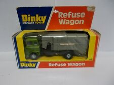 dinky 978 bedford refuse wagon boxed 1976