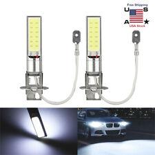 1Pair H3 100W Fog/Driving Lights Cree LED Light Bulbs 6000K Bright White 6000LM
