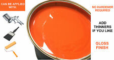 Car Paint ORANGE 5L 1K Synthetic for automotive industrial banger racing RAL2004
