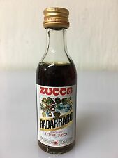 Mignon Miniature Elixir Rabarbaro Zucca 4cl 16% Vol C.
