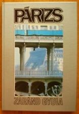 Hungarian Photo album Parizs Paris 1986 France