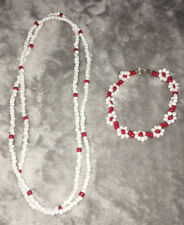Ilde de flores y collar de Obatala Ayaguna