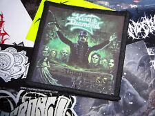King Diamond Patch Aufnäher Thrash Black Heavy Metal Portrait