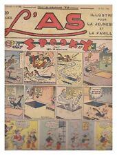 L'AS N° 59 15/05/1938  BE-/BE TARZAN  CHARLOT ROI DES BOXEURS