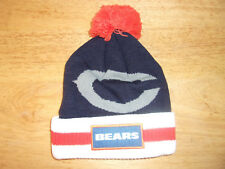 NFL Chicago Bears Budweiser Beanie Pom NWOT Cap Hat Free Shipping!