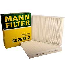 OE BMW Cabin Filter MANN CU 2533-2 Rolls Royce Cabin Air Filter