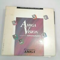 Amiga Vision Authoring Commodore Amiga Manual