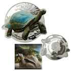 2021 Solomon Islands 1oz Silver Giants of Galapagos-Tortoise Proof like Coin