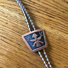 Vintage Copper Native Design Bolo Tie