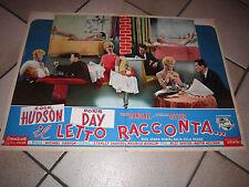 IL LETTO RACCONTA,DORIS DAY,HUDSON,FOTOBUSTA Pillow Talk gordon