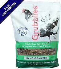 Grubblies 5 lb. Bag USA-Grown Non-GMO Grubs Chicken Treat for Happy Healthy Hens