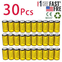 30Pcs CR123A 1800mAh 3.7V 16340 Rechargeable Lithium Batteries for Arlo Cameras