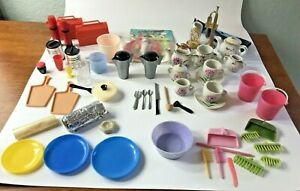Vintage 1960s Barbie & Clone Doll Accessories LOT Hong Kong My Merry Dolly