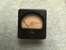 Vintage Radio Panel Meter Simpson Frequency Deviation Kilocycles Me14