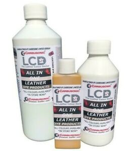 All in one leather dye colorant repair recolour dye stain paint all colour kit