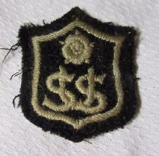 Unknown S.U.S With WHITE ROSE Shield - Military Cloth Patch Badge