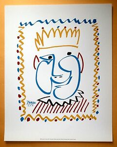 PABLO PICASSO CARNAVAL 1951 SIGNED AND DATED ORIGINAL FRENCH LITHOGRAPH  COA