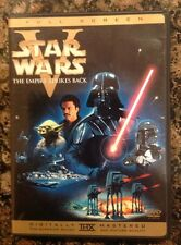 Star Wars The Empire Strikes Back (DVD,2006,Full Screen) Authentic US Rare OOP