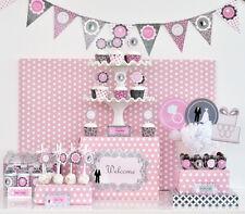 Wedding Bridal Shower Party Decorations Kit - Free US Shipping