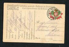 WWI MILITARY - POSTA MILITARE 92 - OBICI PESANTI CAMPALI - SASSO (0029-15)