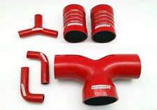 Autobahn88 RED Silicone Air Intake Induction Hose Kit Fit Ferrari F355 355 94-99