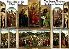 MAGNET Travel World Adoration of the Mystic Lamb GHENT ALTARPIECE Van Eyck