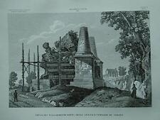 1845 Zuccagni-Orlandini Sepolcro detto degli Orazii e Curiazii in Albano