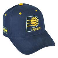 NBA Indiana Pacers HWC Masoli Elevation  Navy Blue Hat Cap Adjustable