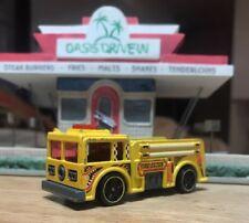 Hot Wheels 1976 Mattel Yellow Fire Eater Engine Truck