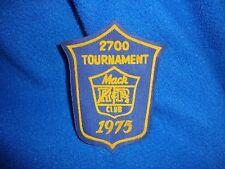 Vintage 1975 Mac Club Tournament Patch