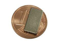S538 Quadermagnete 10 Stück 12x6x1mm sehr starke Magnete Neodym N35 Powermagnete