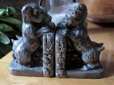 Vintage Scottish Terrier Scottie Puppies Bookends