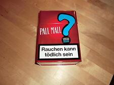 Pall Mall Metalldose, rot,Sammlerstück,limited Edition 2011