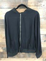 Torrid Women's Black Full Zip Lightweight Jacket Size 2 (2XL)
